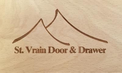 Sized printed logo